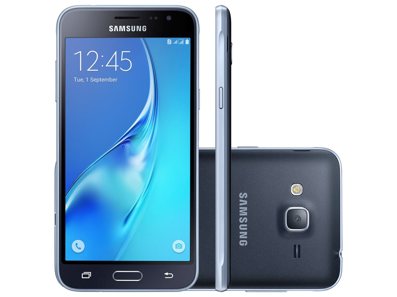 smartphone samsung galaxy j3 2016 8gb preto dual chip 4g. Black Bedroom Furniture Sets. Home Design Ideas