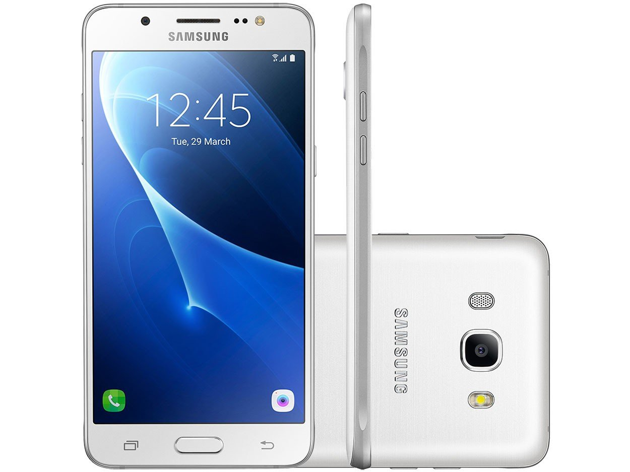 smartphone samsung galaxy j7 metal 16gb branco dual chip. Black Bedroom Furniture Sets. Home Design Ideas