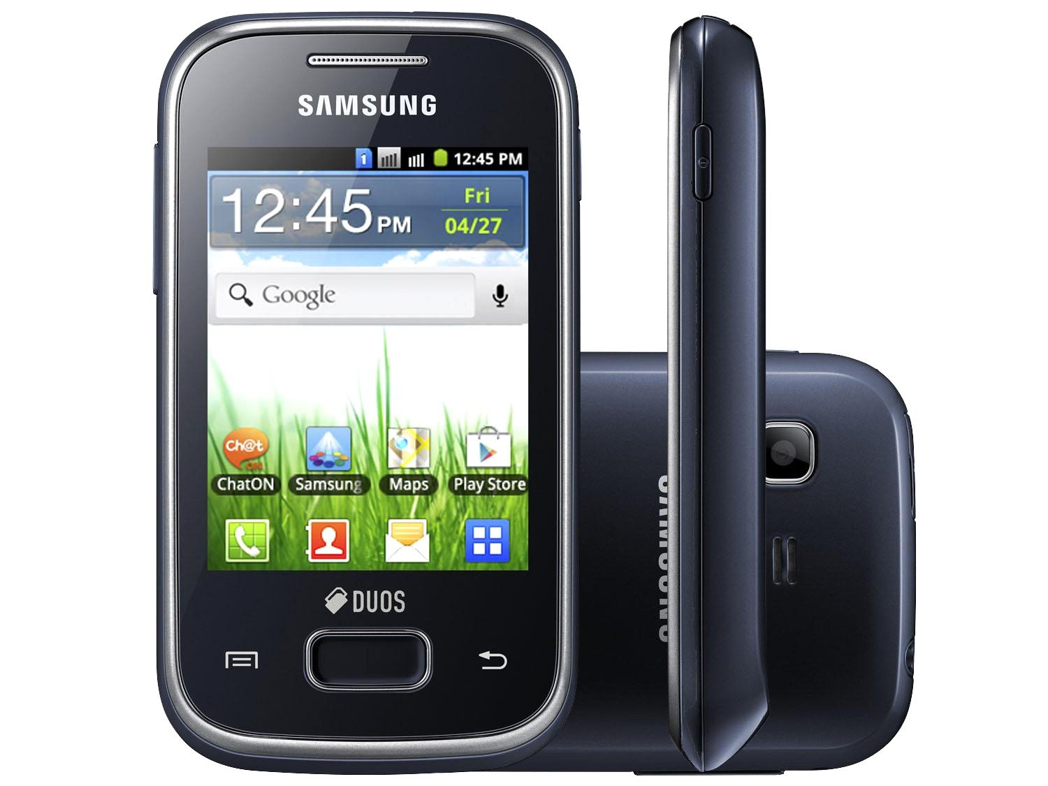 Smartphone Samsung Galaxy Pocket Plus Duos - Dual Chip 3G Android 4.0