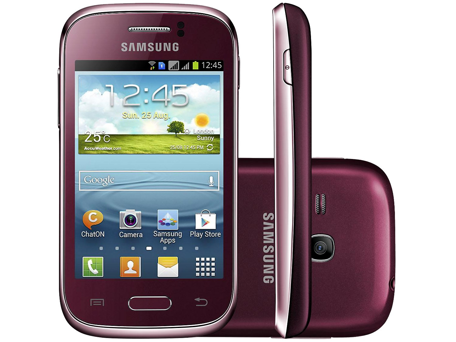 Smartphone Samsung Galaxy Young Duos TV Dual Chip - 3G Android 4.1 ...
