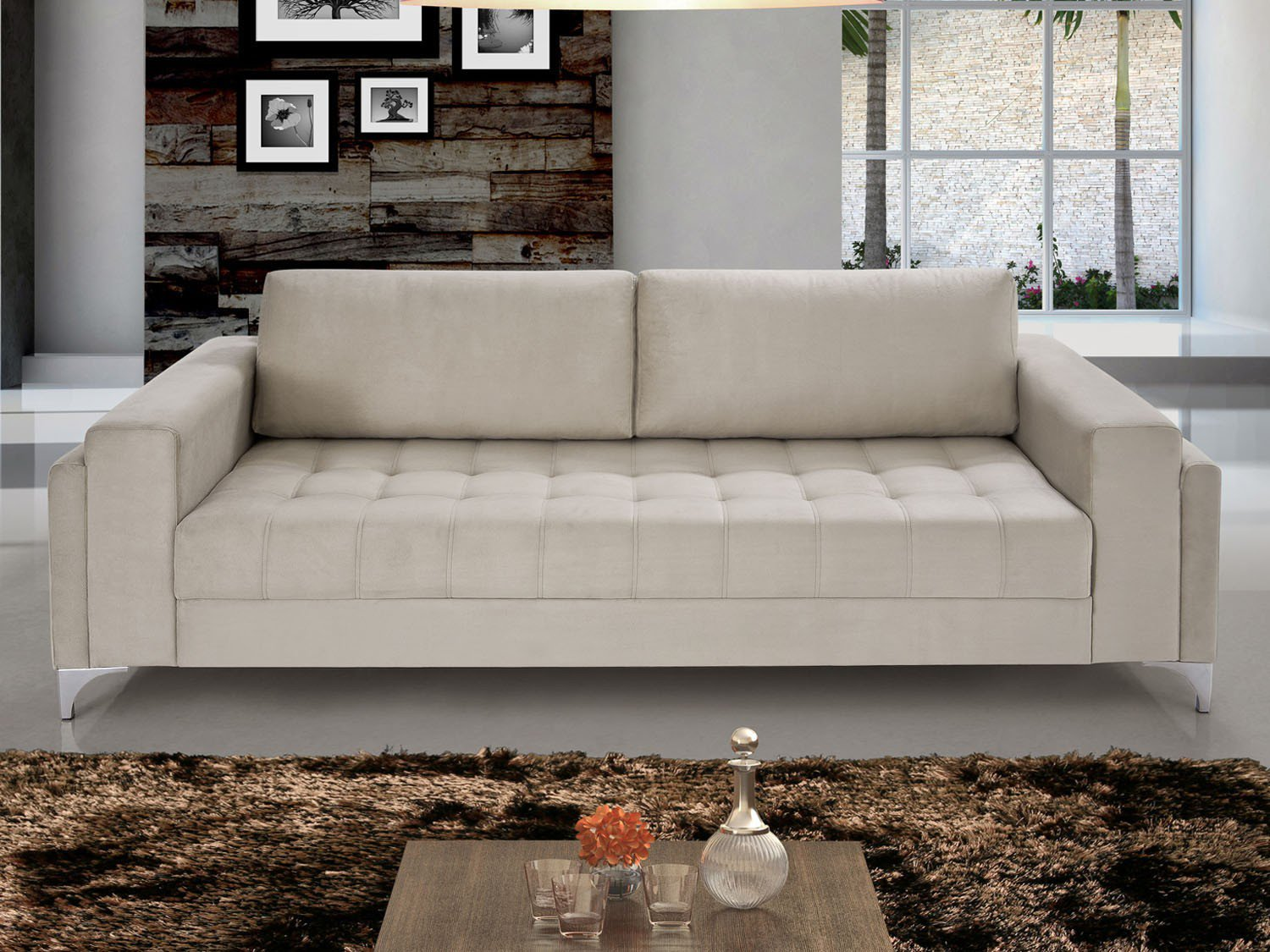 Sof 3 lugares splendore lima estofados sof s 03 lugares for Sofa 03 lugares com chaise