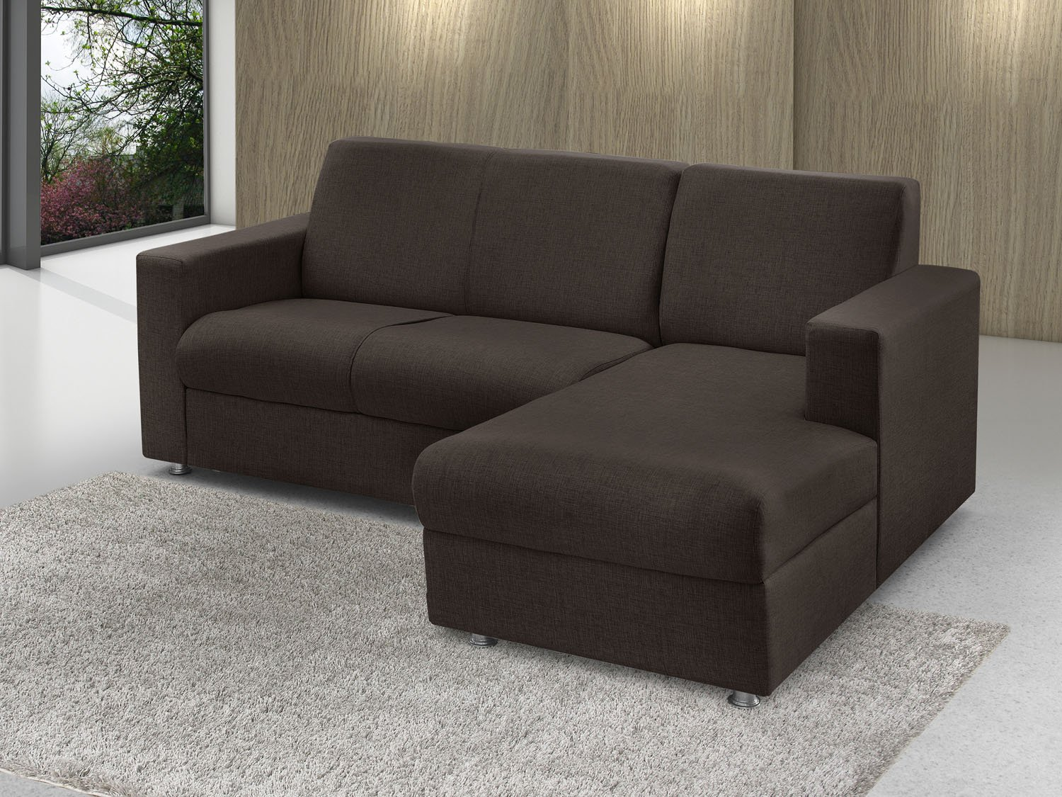 sof chaise 2 lugares chenille roma american comfort