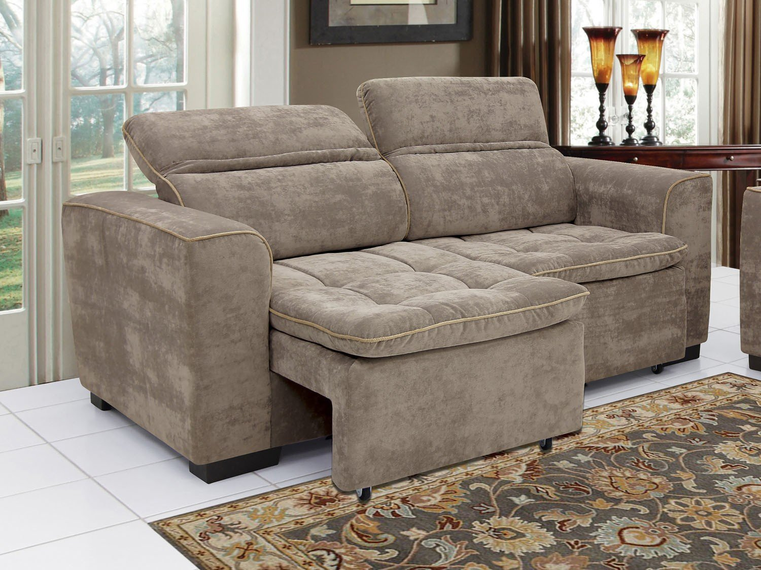 Sof retr til e reclin vel 3 lugares athina linoforte for Sofa 03 lugares retratil e reclinavel