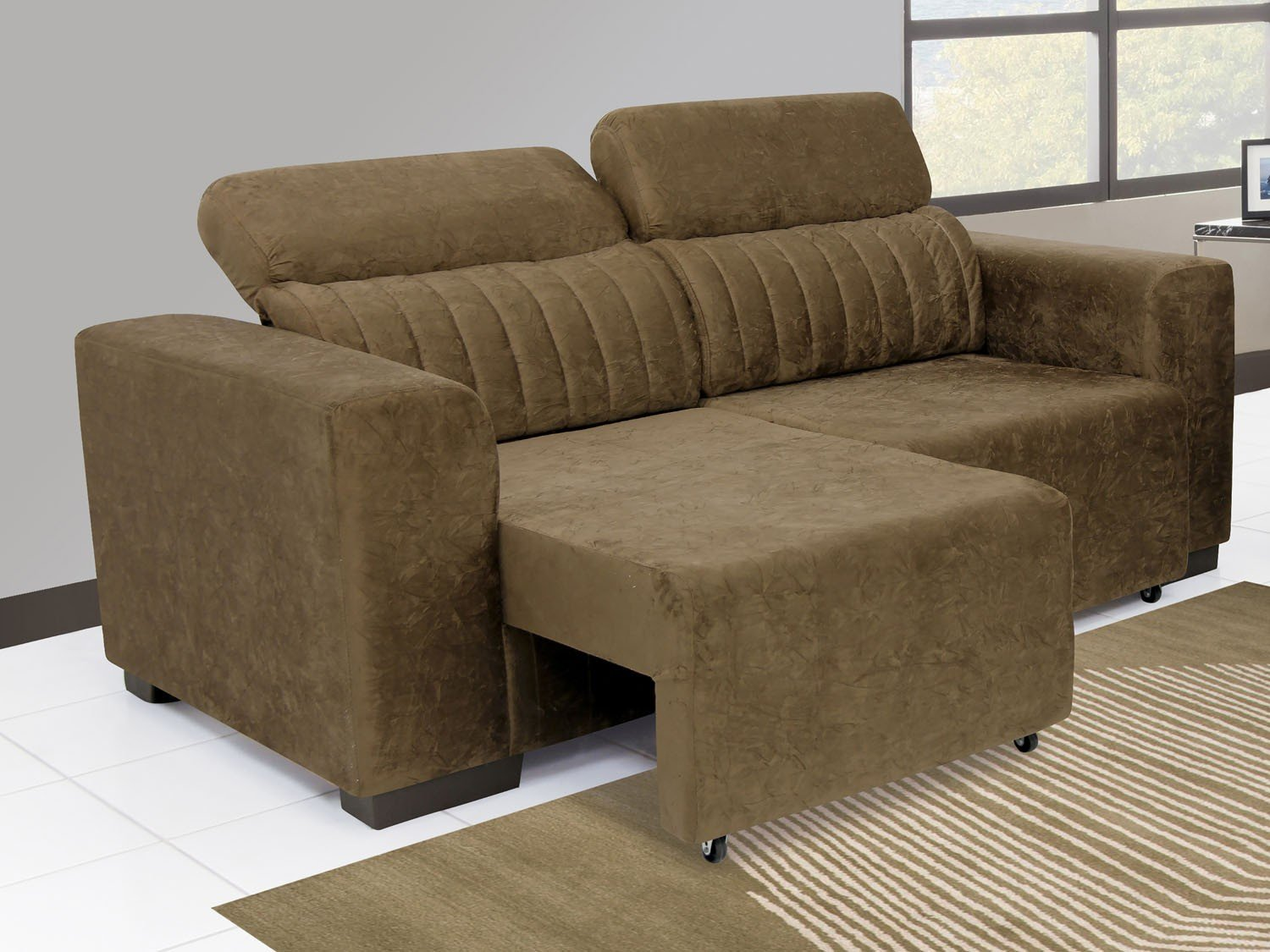 Sof retr til e reclin vel 3 lugares elite linoforte for Sofa 03 lugares retratil e reclinavel