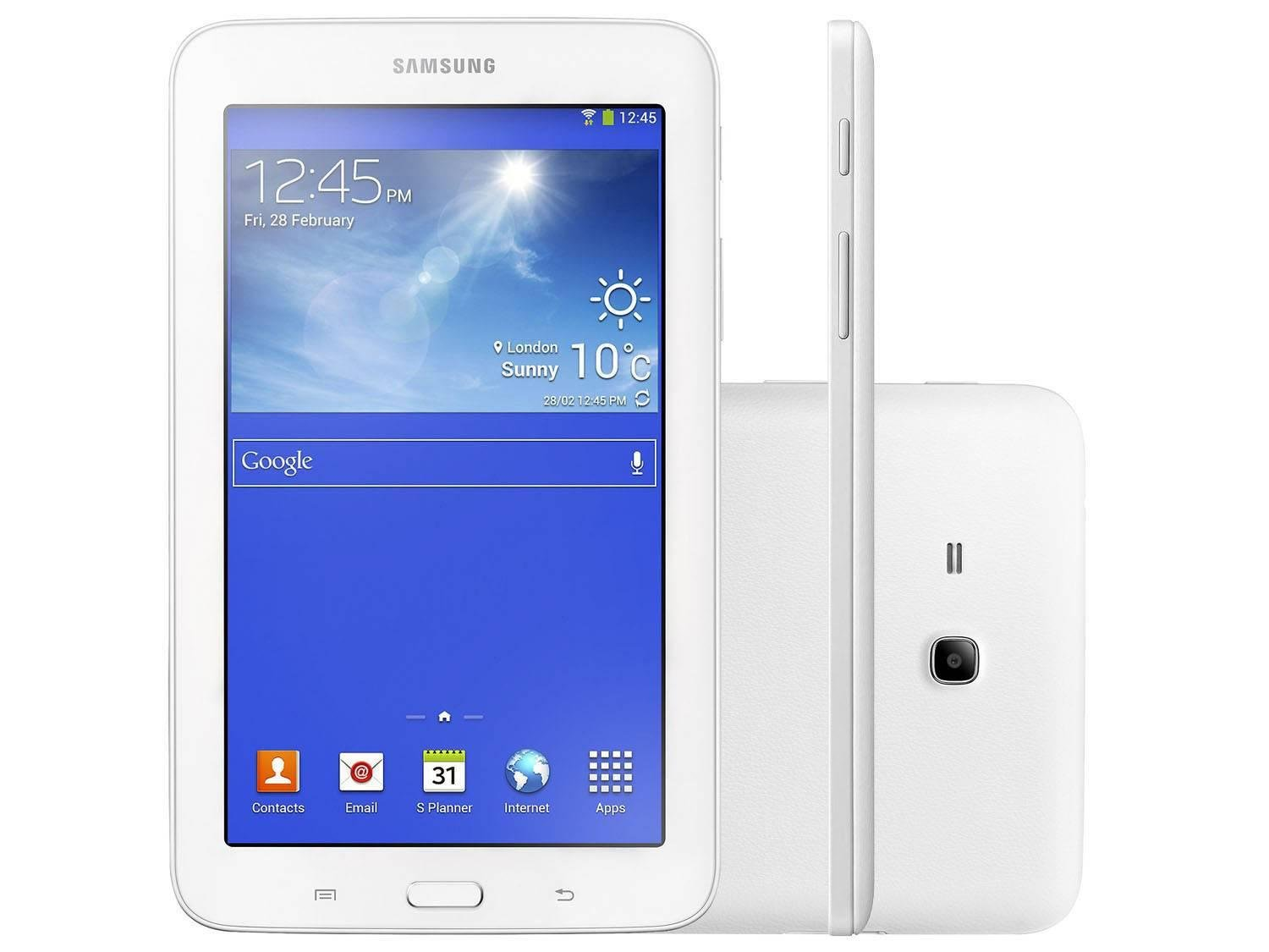 Tablet Samsung Galaxy Tab 3 Lite T110n Branco 8gb Wi-fi