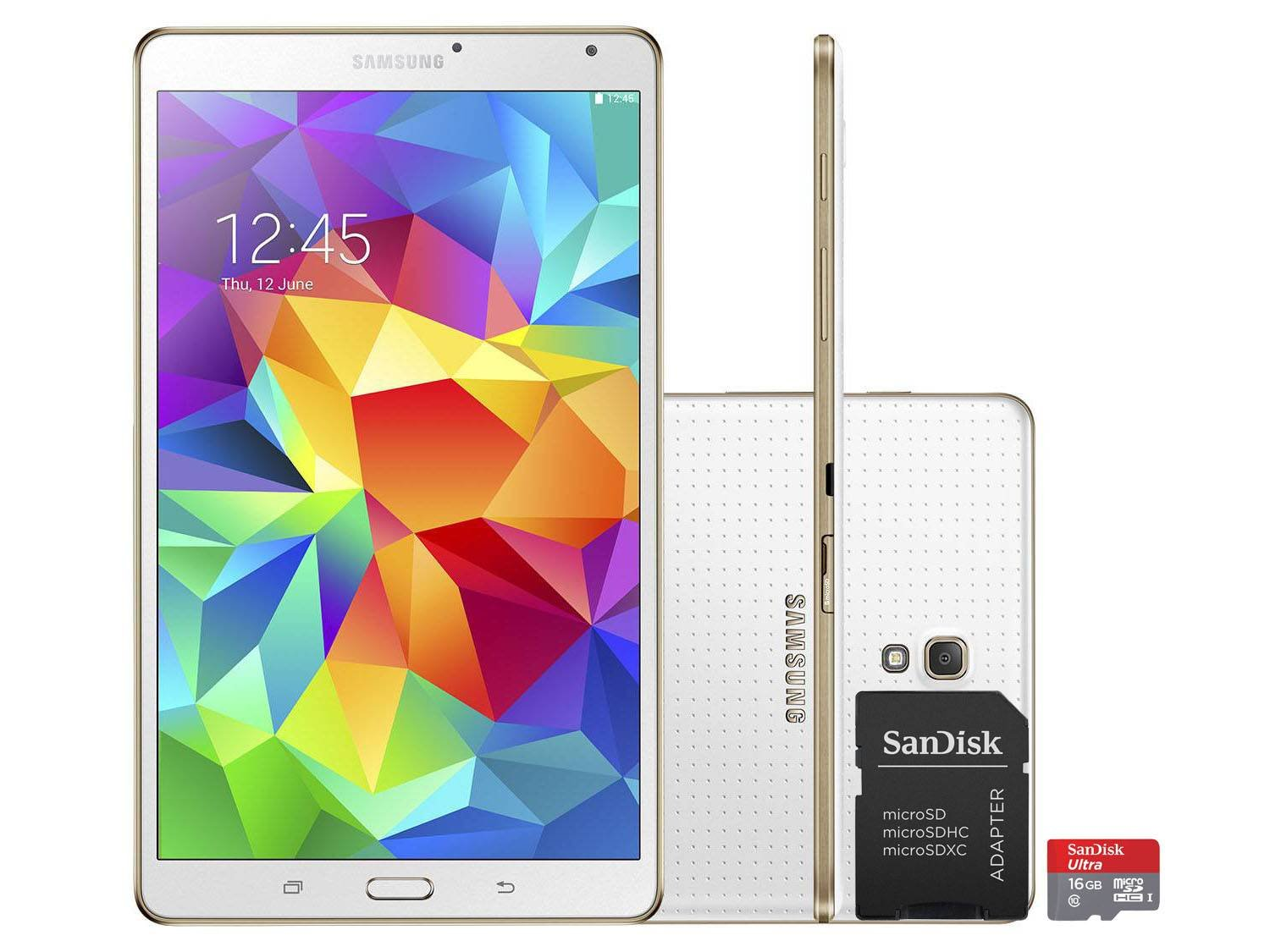 tablet samsung galaxy tab s 16gb tela 8 4 wi fi android 4. Black Bedroom Furniture Sets. Home Design Ideas