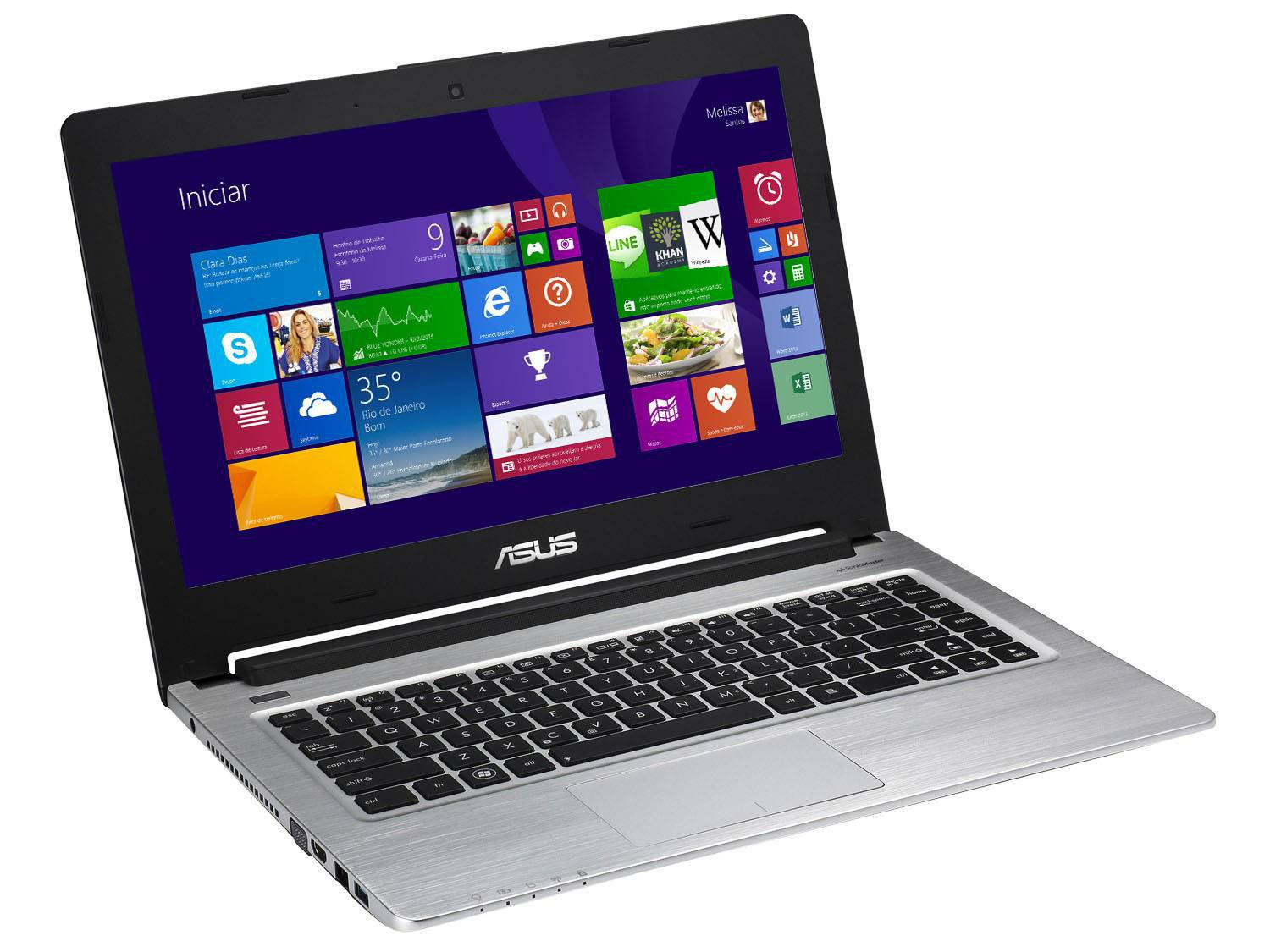 Comprar Ultrabook Asus Intel Core i7 Windows 8 LED 14 com Placa de Vídeo 2GB HDMI