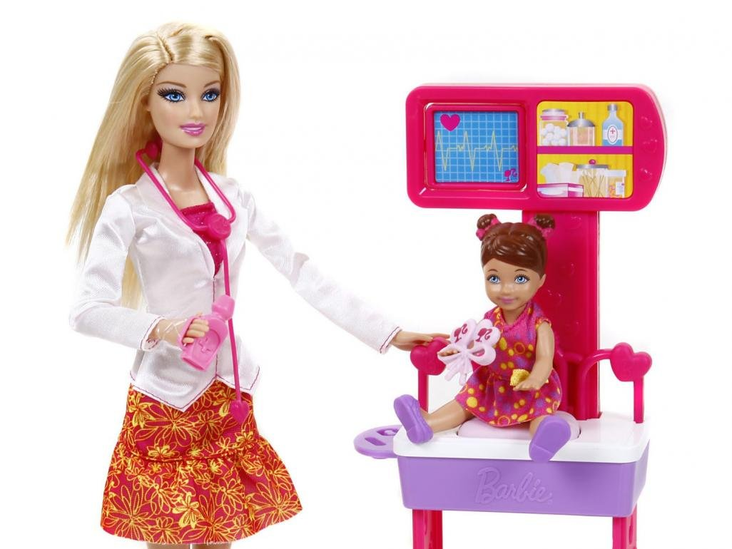boneca-barbie-pediatra-mattel