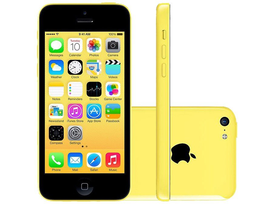 iphone-5c-apple-8gb-4g-ios-8-tela-4-wi-fi-camera-8mp-grava-em-hd-gps-proc.-a6-amarelo