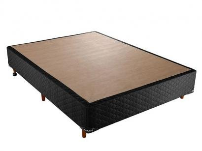 Cama Box Casal 138x188cm - Mannes Diamond Black