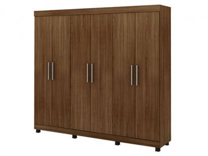 Guarda-Roupa Casal Volpe 6 Portas 4 Gavetas - Fama Mveis