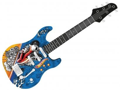 Guitarra Infantil Hot Wheels Luxo - Monte Líbano