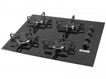 Cooktop a Gs 4 Bocas Built BLT4QPR - Acendimento Superautomtico - Snap in