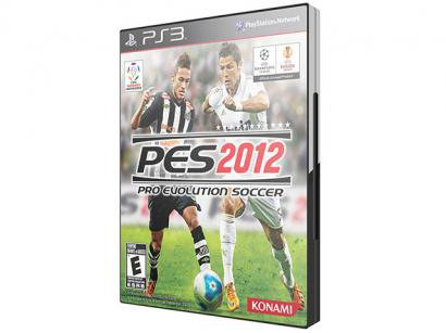 Pro Evolution Soccer 2012 para PS3 - Konami