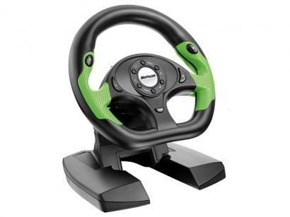 Volante GT Shift p/ PC e Xbox 360 - Multilaser JS066