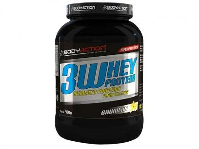 Whey 3W Protein 900g - Body Action