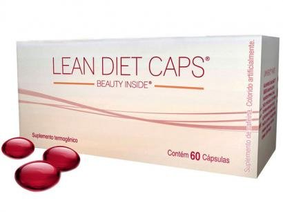 Feminino Lean Diet Caps - Beauty Inside Probitica c/ 60 Cpsulas