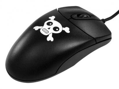 Mouse Óptico USB 800dpi - Asys Pirate