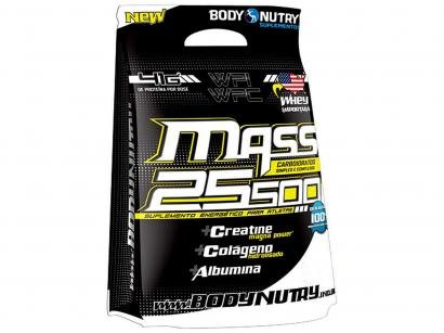 Refil Mass 25500 + Creatine Magna Power 3kg - Hipercalórico Brigadeiro - Body Nutry