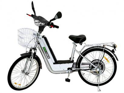 Bicicleta Eltrica Ecobike City250 - Aro 24 250 Watts com Suspenso Dianteira