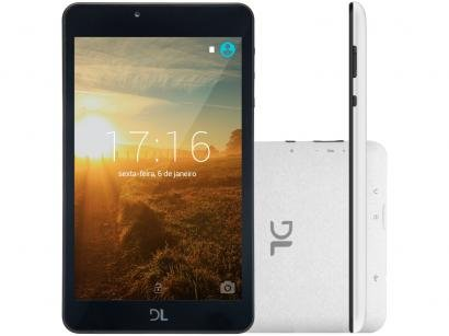 """Tablet DL Invent Now 8GB Tela 7"""" Wi-Fi - Android 5.1 Proc. Quad Core"""