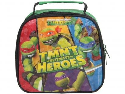 Lancheira Teemage Mutant Ninja Turtles - TMNT Ultimate Heroes Térmica DMW Soft...