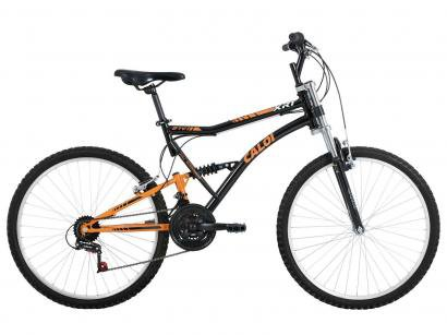 Bicicleta Caloi XRT - Full Suspension Aro 26 21 Marchas