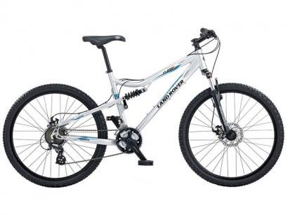 "Bicicleta Land Rover Experience Team FSX - 21 Marcha Aro 26 Tam 18"" Full Suspension"
