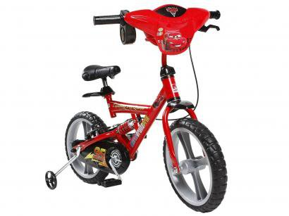 Bicicleta X-Bike Carros 2 Aro 14 - Bandeirante