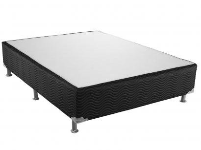 Cama Box Casal 138x188cm - Ortobom Light Selado Black
