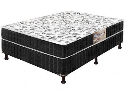 Cama Box Conjugada Casal 138X188cm - Umaflex Granada Black