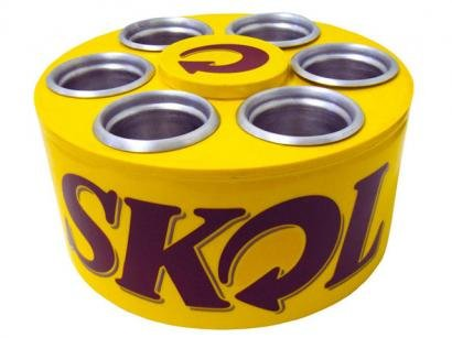 Cooler Skol p/ 6 Latas 350 ml - Doctor Cooler