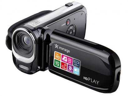 "Filmadora Multilaser DC115 Full HD LCD 2,4"" - Zoom Digital 8x Saída mini HDMI Detector de Faces"