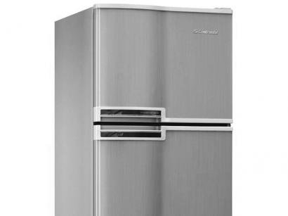 Geladeira/Refrigerador Continental Cycle Defrost - Duplex 337L Inox RCCT370