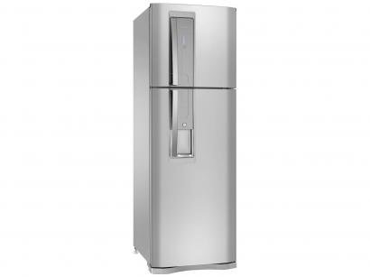 Geladeira/Refrigerador Electrolux Frost Free - Duplex 380L Inox Painel Blue Touch DW42X