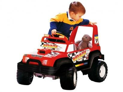 Jeep Elétrico Nevada Pick-up - Peg-Pérego