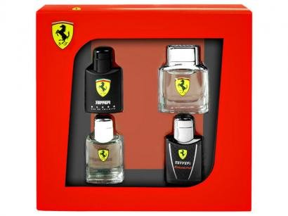 Kit com 4 Perfumes Miniaturas de 4ml cada - Edio Limitada - Ferrari