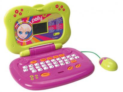 Laptop Polly Pocket 33 Atividades - Candide