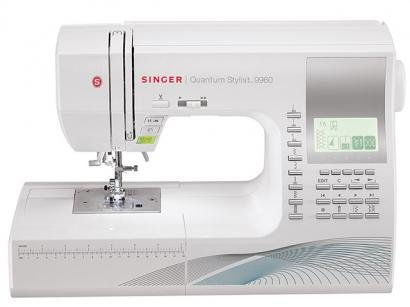 Mquina de Costura - Singer Quantum Stylist 9960 com Mesa Extensora