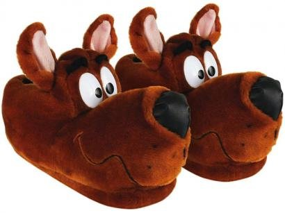 Pantufa Scooby-Doo em Plush Tam 31/33 - Ricsen