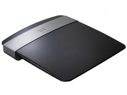 Roteador Wireless 300 Mpbs c/ 4 Portas - Cisco Linksys E2500