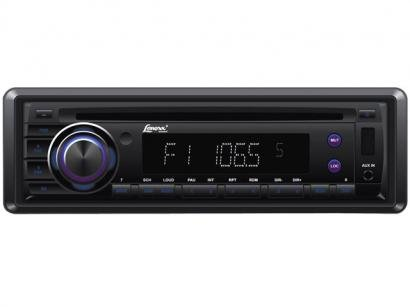 Som Automotivo Lenoxx AR-582 com Entrada USB e SD - MP3 + Frente Removível