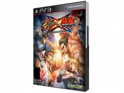 Street Fighter x Teken p/ PS3 - Capcom