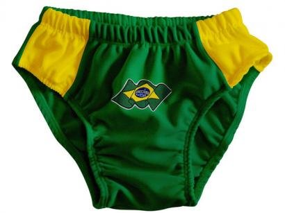 Sunga Infantil Brasil - Torcida Baby