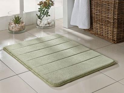 Tapete para Banheiro Super Soft Grande Verde - 70x50cm - Camesa