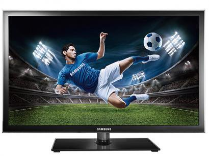 "TV LED 40"" Samsung Full HD 1080p UN40D5000 - Conversor Digital 4 HDMI 2 USB Anynet All Share"