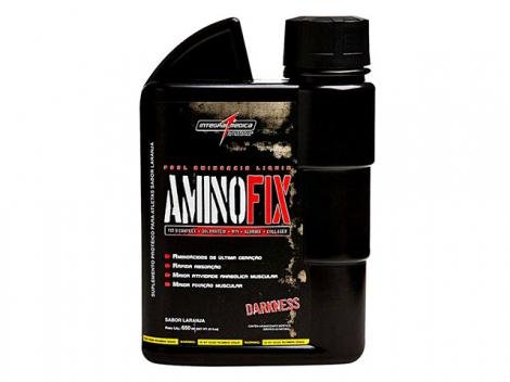 Amino Fix Liquid Darkness Laranja 650ml - Integralmédica