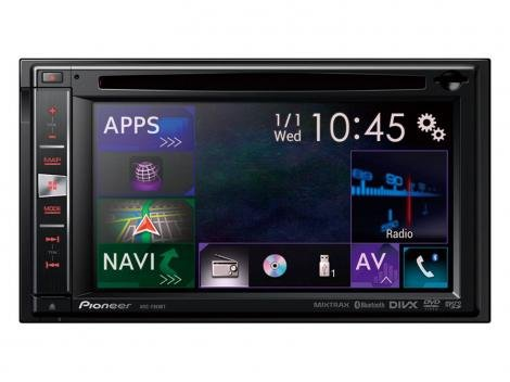 "Central Multimídia Pioneer AVIC-F960BT Tela 6,1"" - Touch Screen Bluetooth GPS USB e SD"