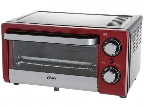 Forno Eelétrico Oster Invicta Tssttv10ltr017 10L - Grill Timer