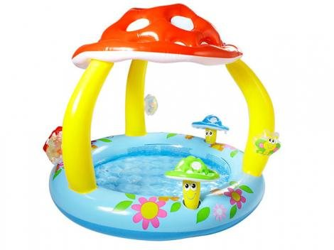 Piscina Cogumelo Divertido 45 Litros - Intex